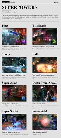 File:Saints Row website - Arsenal - Superpowers.png