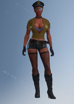 Stripper02 - Vera - character model in Saints Row IV