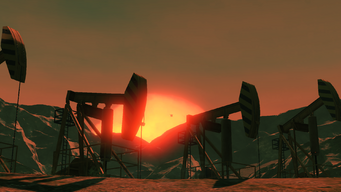 Zero Saints Thirty intro - oil field