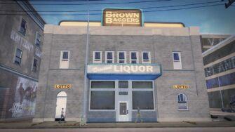 Brown Bagger Poseidon Alley exterior