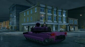 Challenger - customised - rear left in Saints Row The Third