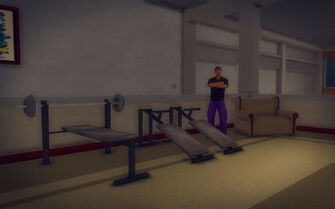 Downtown Loft - Modern - gym