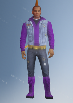 Gang Customization - Punk 2 - Juan - in Saints Row IV