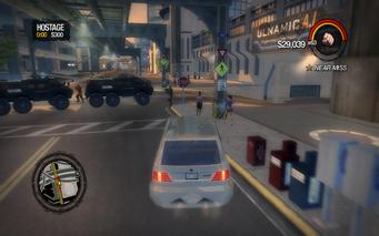 Hostage roadblock in Saints Row 2