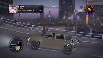 Keystone - left with logo in Saints Row 2
