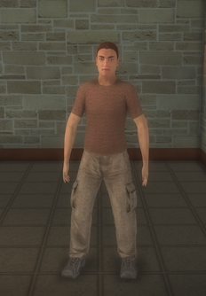 Paparazzi - white generic - character model in Saints Row 2