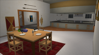 Price Mansion - kitchen table