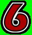 Saints Row 2 clothing logo - No06 number