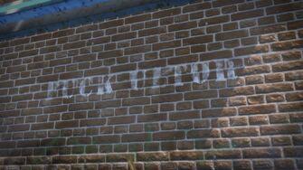 Brown Baggers Shivington - Fuck Ultor graffiti
