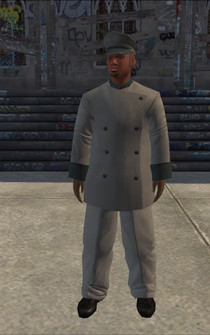 Chauffeur - black grey - character model in Saints Row