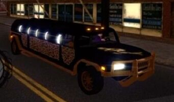 The Job - front right with lights in Saints Row