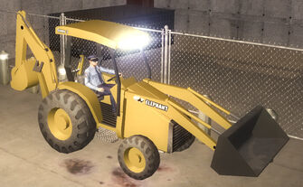 Backhoe - front right in Saints Row 2