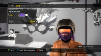 Head - Hats - EDF Helmet - recoloured