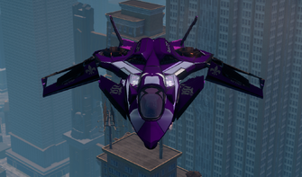 Saints VTOL - hover mode - front in Saints Row The Third