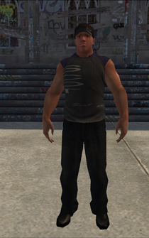Bouncer - Black - character model in Saints Row