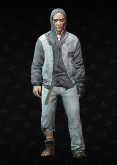 Bum - Howarda - character model in Saints Row The Third