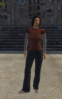 Poor female - ApartmentsHairSalon - character model in Saints Row