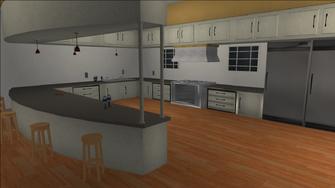 Price Mansion - kitchen