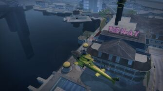 Tee'N'Ay - aerial view in Saints Row 2