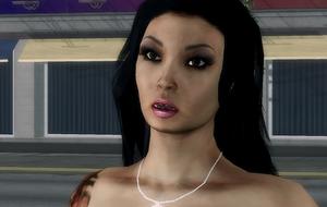 Tera headshot in Your Move, Valderamma cutscene