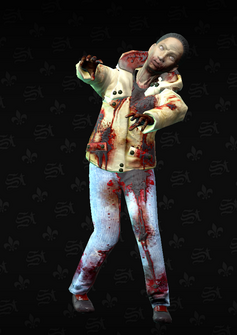 Zombie 05 - Rebecca - character model in Saints Row The Third