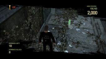 Zombie Uprising - dropped Knife