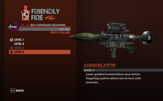 Annihilator RPG - Level 4 description