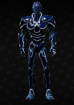 Deckers cyber - character model in Saints Row The Third