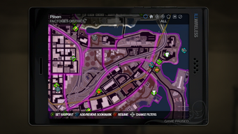 Factories map in Saints Row 2