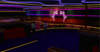 Tee'N'Ay - interior from couches in Saints Row