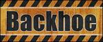 Backhoe logo