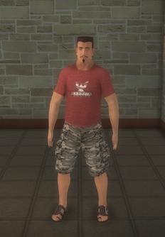 Beach male - white generic - character model in Saints Row 2