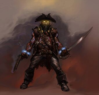 Blackbeard - Gat out of Hell promo concept art