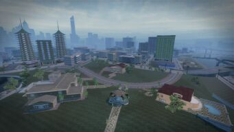 Cecil Park - aerial view