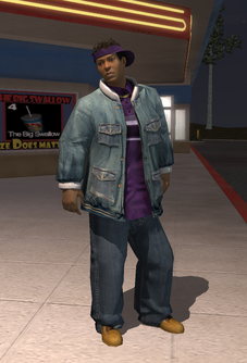 Dex as a homie in Saints Row