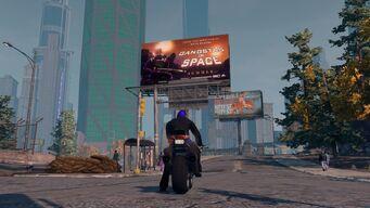 Gangstas in Space billboard location