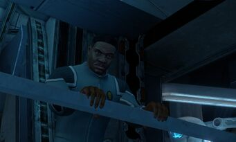 Keith David on the Ship
