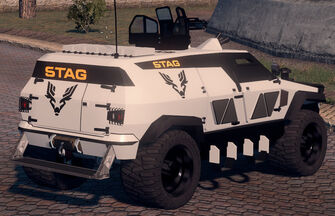 N-Forcer - STAG variant in Saints Row The Third - rear right