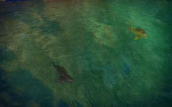 Pleasant View in Saints Row 2 - three-eyed two-headed Fish