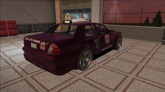 Saints Row variants - Taxi - TNA B - rear right