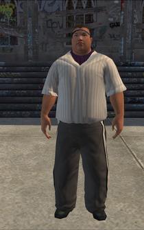 SportsFan - asian - character model in Saints Row
