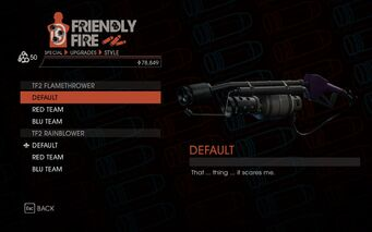 Weapon - Special - Incinerator - TF2 Flamethrower - Default