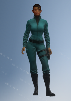 Asha - Zero Saints Thirty - character model in Saints Row IV
