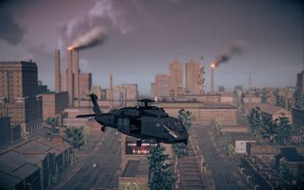Eagle - Average variant - front right in flight in Saints Row IV