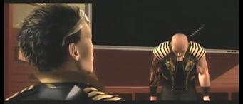 Jyunichi bowing to Shogo