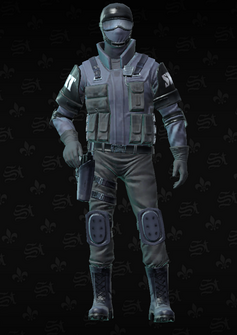 SWAT - Colin - character model in Saints Row The Third