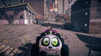 Sad Panda - front in Saints Row IV