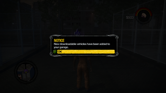 Saints Row 2 DLC - new downloadable vehicles notice
