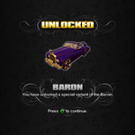 Saints Row unlockable - Vehicles - Baron