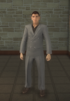 Vinnie - cutscene - character model in Saints Row 2